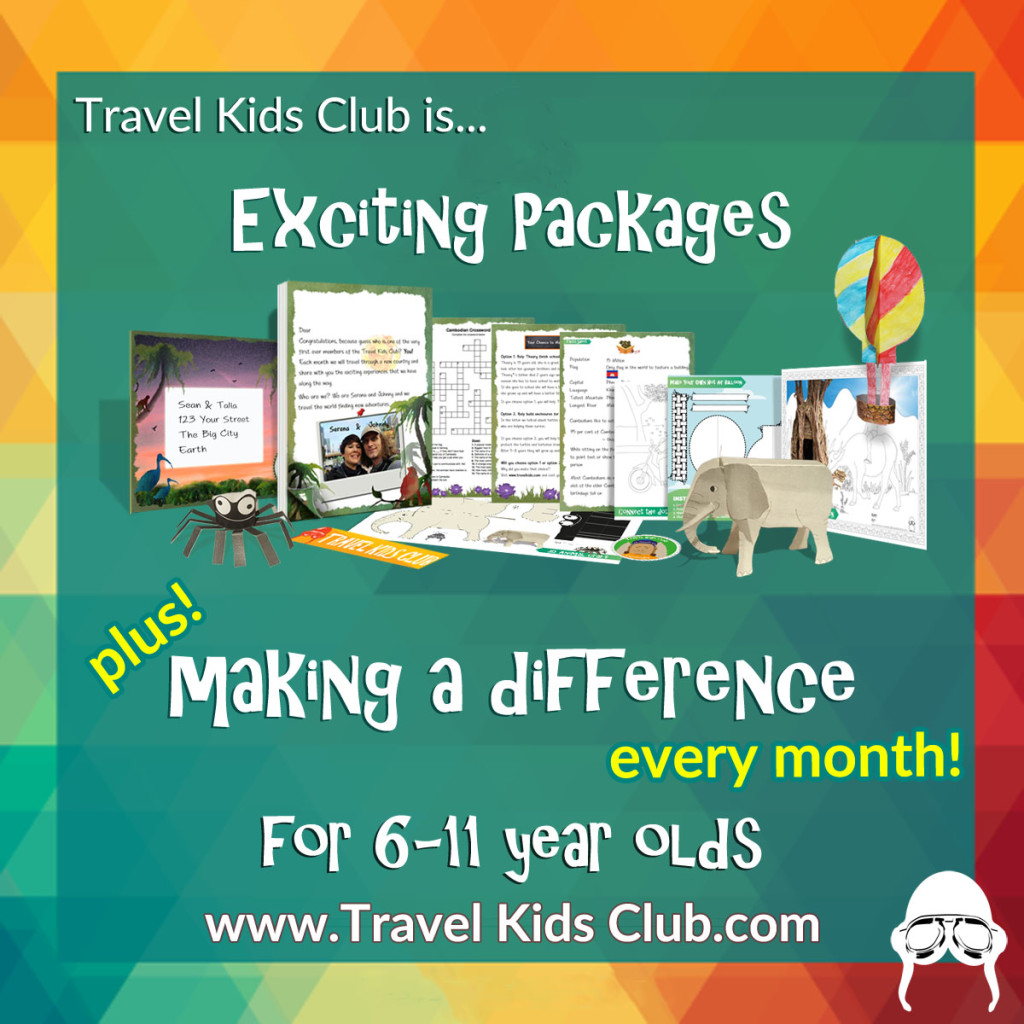 Travel Kids Club Ad