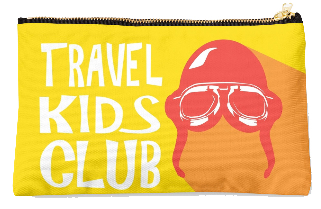 Travel Kids Club Pencil Case