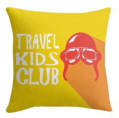 Travel Kids Club Cushion Cover