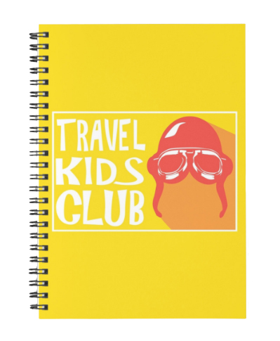 Travel Kids Club: Spiral Notebook