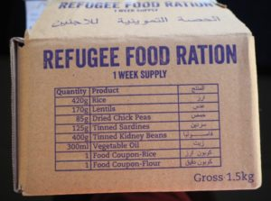 Food Rations Refugees