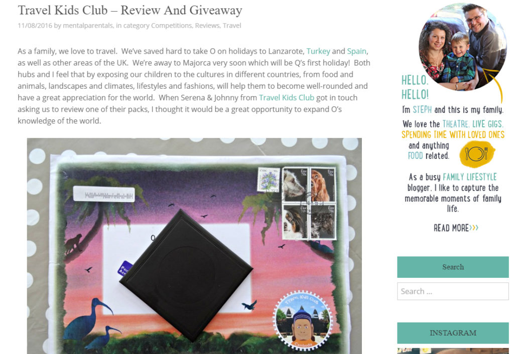 Mental Parentals Review Travel Kids Club