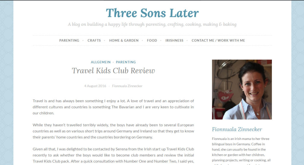 Three Sons Later Review