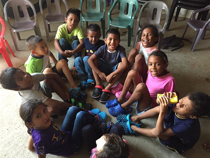 Environmental Education for kids in the slums